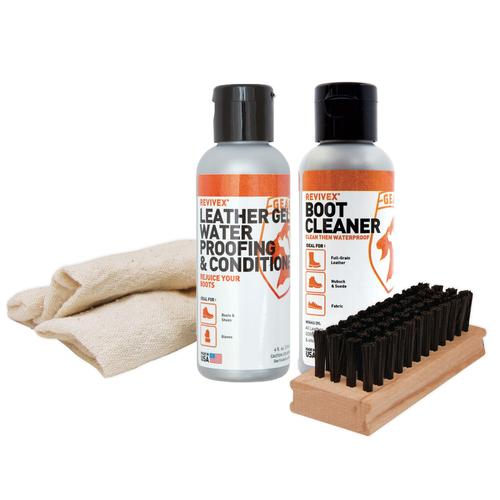 REVIVE-X LEATHER BOOT CARE KIT