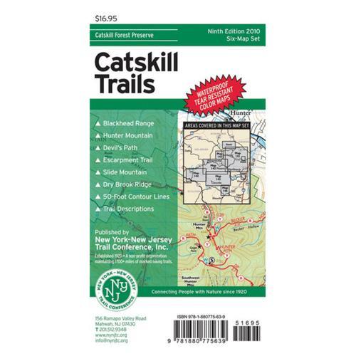 CATSKILL TRAILS MAP