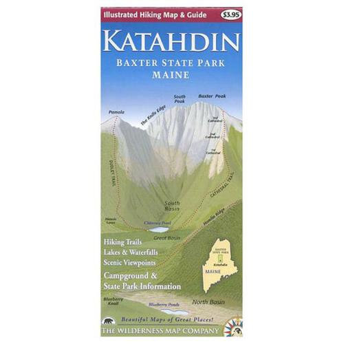 KATAHDIN MAP & GUIDE