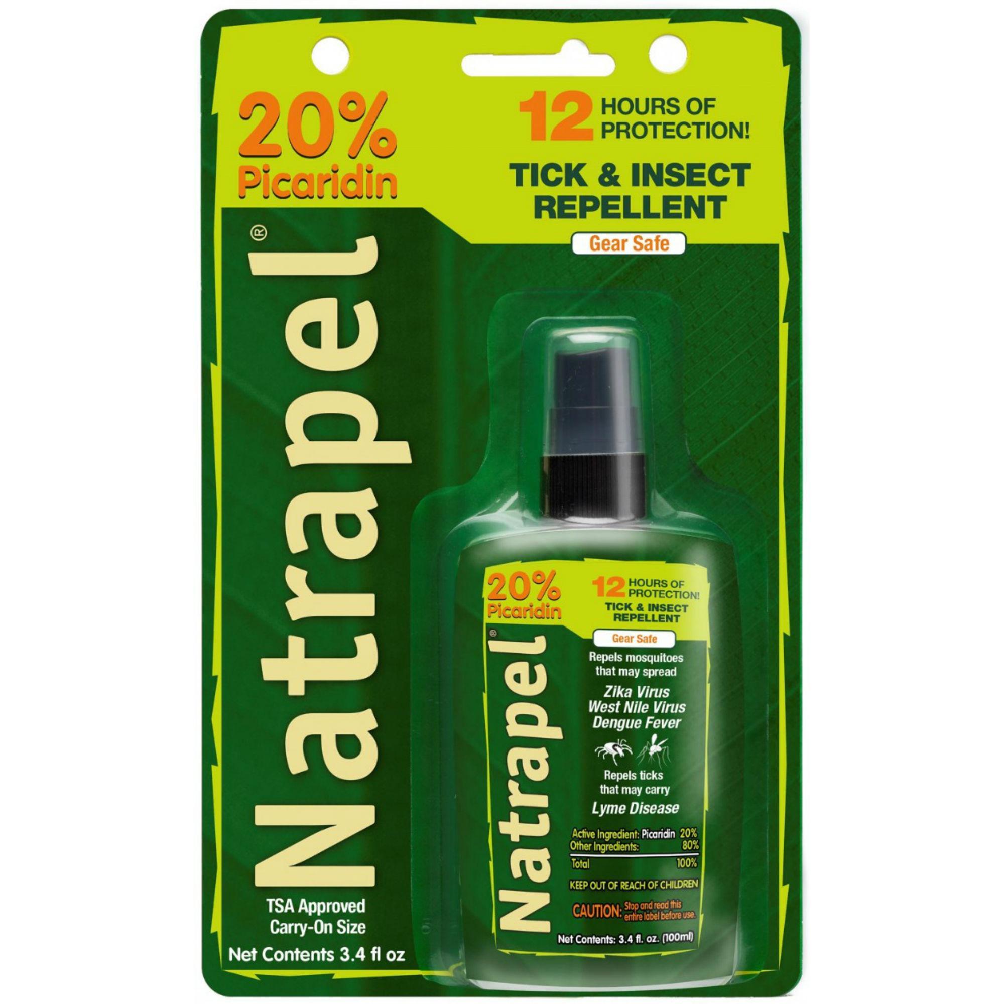 Natrapel Pump Spray 3.4 Oz