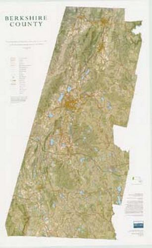 BERKSHIRE NATURAL RESOURCES COUNCIL BERKSHIRE COUNTY LAMINATED MAP