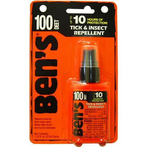 BEN'S MAX 100% DEET PUMP 1.25oz