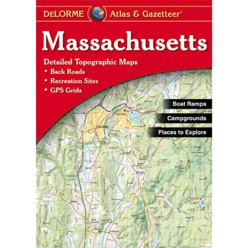 DELORME ATLAS: MASSACHUSETTS