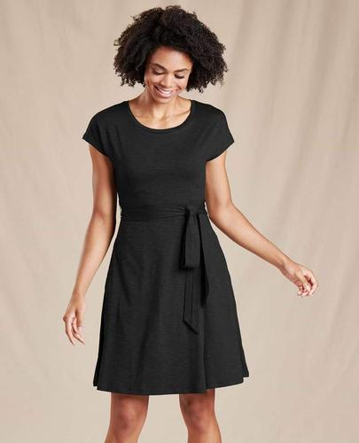 TOAD & CO WOMEN'S CUE WRAP DRESS
