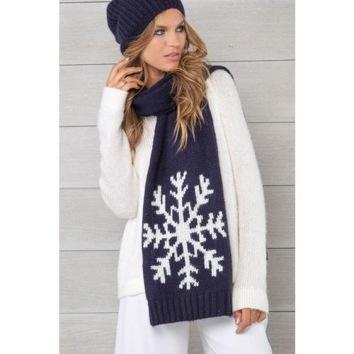 WOODEN SHIPS SNOWFLAKE SCARF