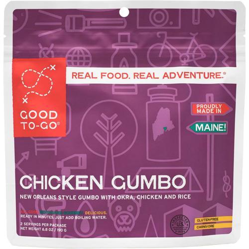 GOOD TO-GO CHICKEN GUMBO - 2 SERVINGS