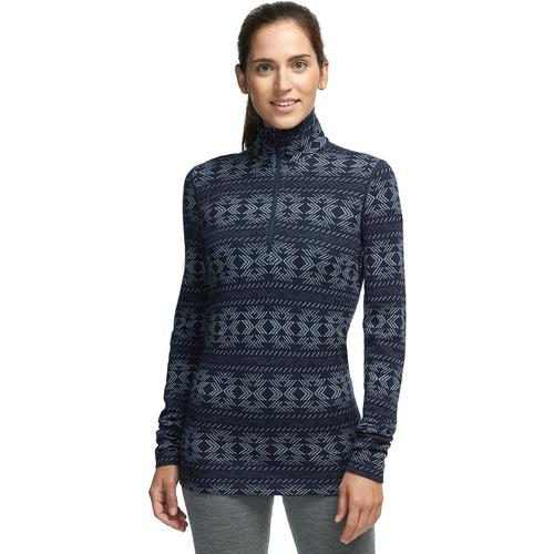 ICEBREAKER WOMEN'S VERTEX LONG SLEEVE HALF ZIP