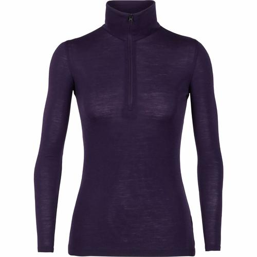 ICEBREAKER WOMEN'S EVERYDAY LONG SLEEVE HALF ZIP