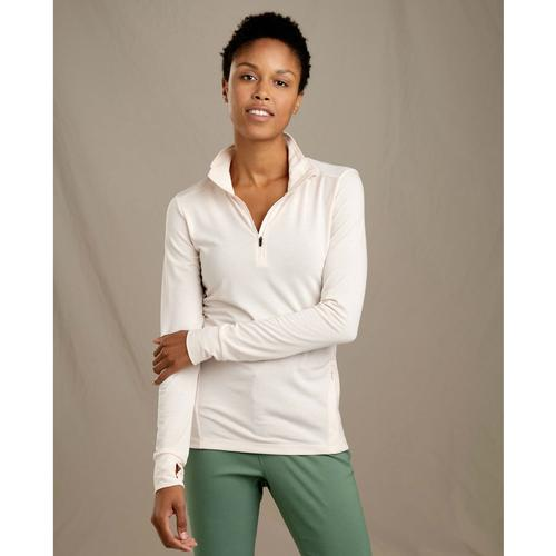 TOAD&CO WOMEN'S DEBUG SWIFTY BREATHE 1/4 ZIP