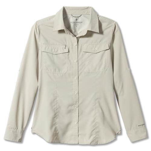 ROYAL ROBBINS WOMEN'S BUG BARRIER EXPEDITION L/S