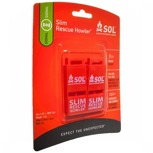 S.O.L. SLIM RESCUE HOWLER 2-PACK