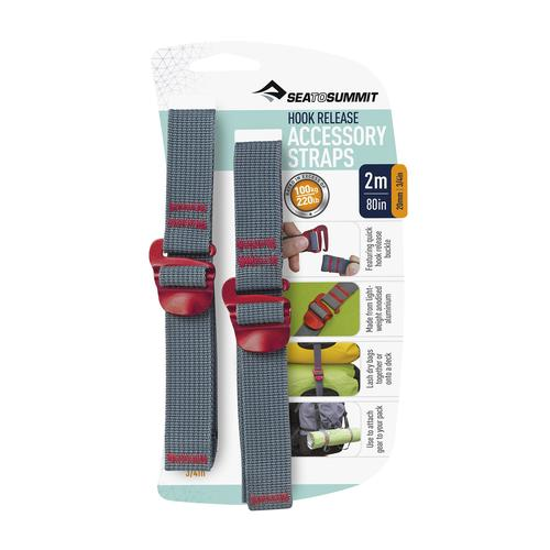 SEA TO SUMMIT ACCESSORY STRAPS WITH HOOK RELEASE 3/4