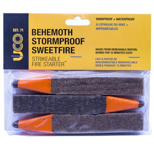 UCO BEHEMOTH SWEETFIRE MATCHES - 3Pack