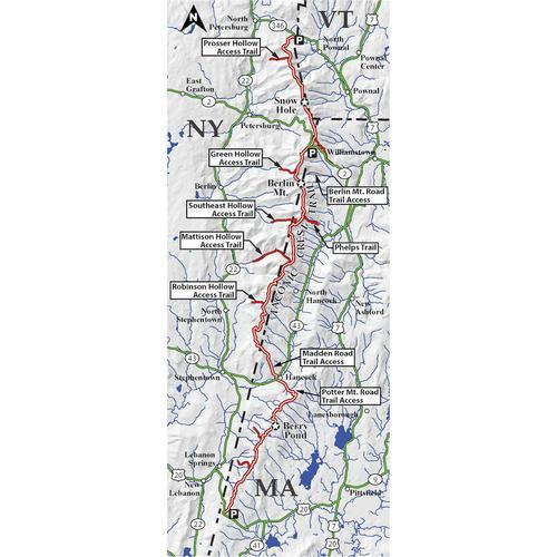 TACONIC CREST TRAIL MAP