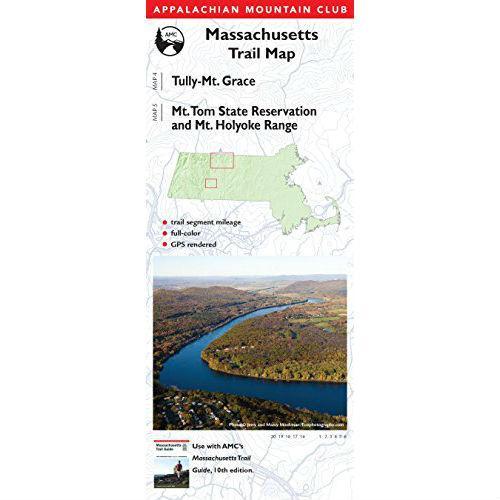 AMC'S MASSACHUSETTS TRAIL MAP - TULLY, MT TOM