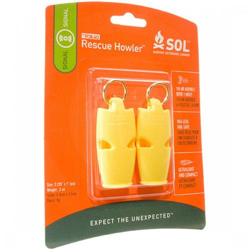 SOL RESCUE HOWLER 2PK
