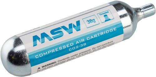 Threaded Co2 Cartridge 38g