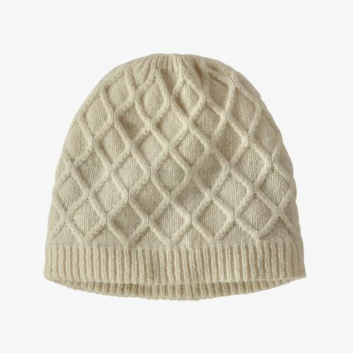 Wms Honeycomb Knit Beanie