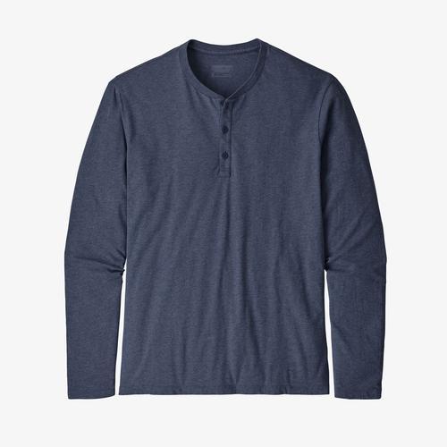 L/s Organic Cotton Lw Henley Po