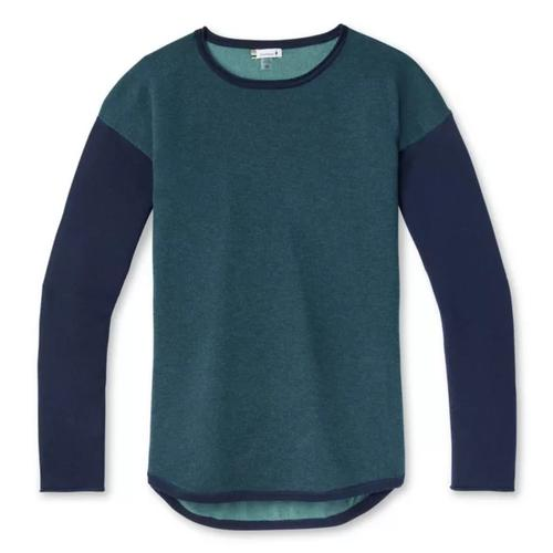 Wms Shadow Pine Colorblock Sweater
