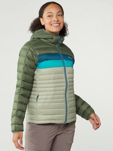 Wms Fuego Down Hooded Jacket