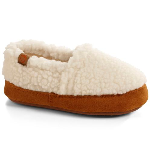 ACORN KIDS ACORN MOC SLIPPERS